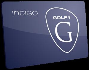 Carte Golfy Indigo