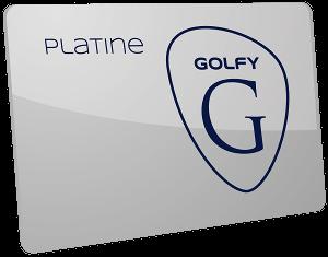 Carte Golfy Platine